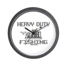 Heavy Duty Fishing Wall Clock,Oil,Oilfield
