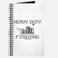 Heavy Duty Fishing Journal,Oil Field,Oil,Rigs,