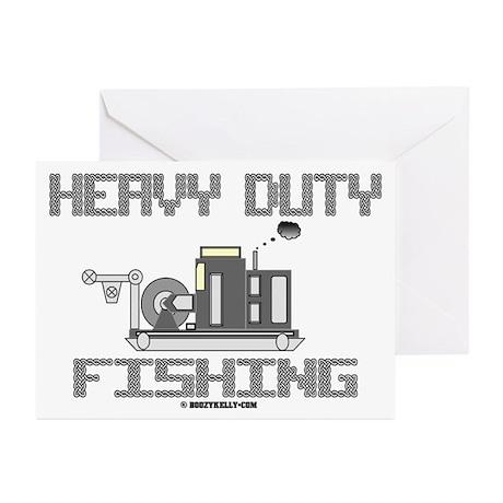 Heavy Duty Fishing Greeting Cards (Pk of 10)