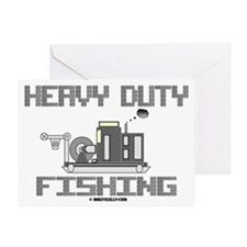 Heavy Duty Fishing Greeting Card,Oil,Wireline