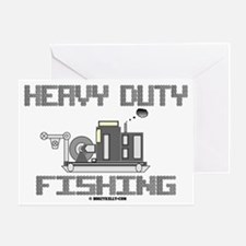 Heavy Duty Fishing Greeting Card,Oil,Wireline