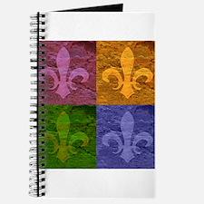 Fleur De Lis Art - Journal