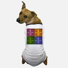 Fleur De Lis Art - Dog T-Shirt