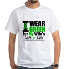 I Wear Green For Wife Shirt