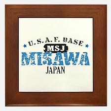 Misawa Air Force Base Framed Tile