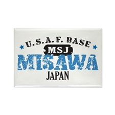 Misawa Air Force Base Rectangle Magnet