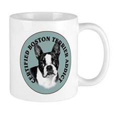 boston terrier addict Mug