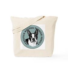 boston terrier addict Tote Bag