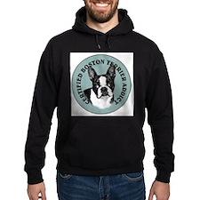 boston terrier addict Hoodie