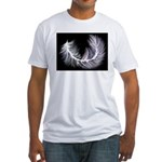 Light as a ..... Fitted T-Shirt