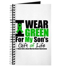 I Wear Green For My Son Journal