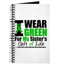 I Wear Green For My Sister Journal
