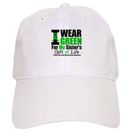 I Wear Green For My Sister Cap