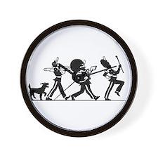 76 Trombones Wall Clock