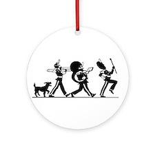 76 Trombones Ornament (Round)