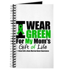 I Wear Green For My Mom Journal