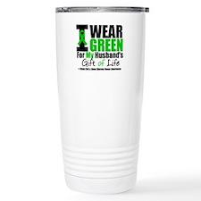 I Wear Green For My Husband Travel Mug