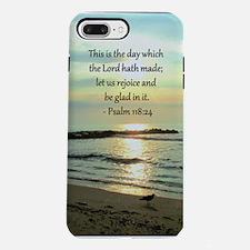 PSALM 118:24 iPhone 7 Plus Tough Case