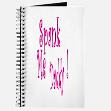 Spank Me Daddy! Journal