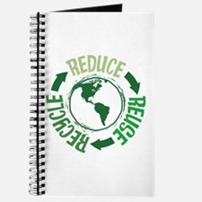 Recycle Green Journal