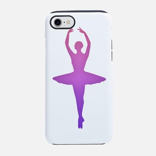 Ballerina Sillouette iPhone 7 Tough Case