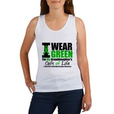 I Wear Green Granddaughter Women's Tank Top