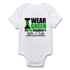 I Wear Green For My Daughter Infant Bodysuit