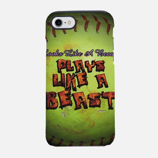 Plays Like A Beast Fastpitch S iPhone 7 Tough Case