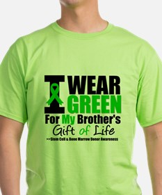 I Wear Green For My Brother T-Shirt