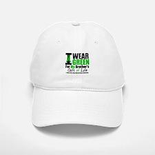 I Wear Green For My Brother Baseball Baseball Cap