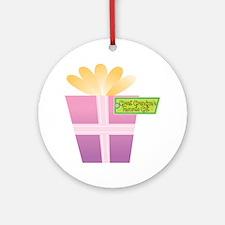 Great Grandma's Favorite Gift Ornament (Round)