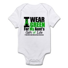 I Wear Green For My Aunt Infant Bodysuit