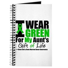 I Wear Green For My Aunt Journal
