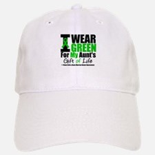 I Wear Green For My Aunt Baseball Baseball Cap