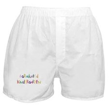 I graduated kindergarten Boxer Shorts