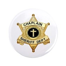 """Sheriff Badge Buttons 3.5"""" Button (10 pack)"""