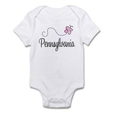 Pretty Pennsylvania Infant Bodysuit