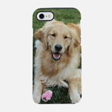 Nala the golden retriever dog  iPhone 7 Tough Case