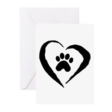 Heart Greeting Cards (Pk of 20)