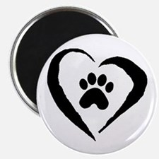 "Heart 2.25"" Magnet (10 pack)"