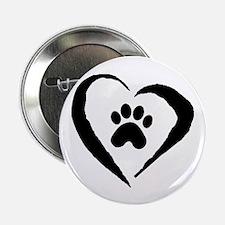 """Heart 2.25"""" Button (10 pack)"""