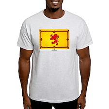 Scotland Lion Rampant Ash Grey T-Shirt