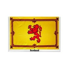Scotland Lion Rampant Rectangle Magnet