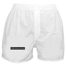 Unique Word Boxer Shorts
