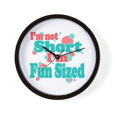 I'm Fun Sized Wall Clock