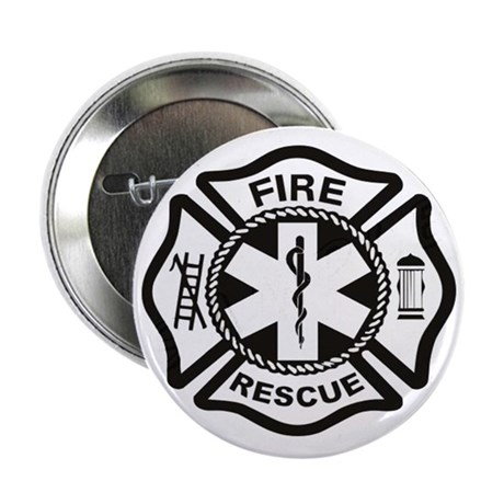 "Fire Rescue Dept. 2.25"" Button (10 pack)"