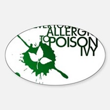 Poison Ivy II Oval Decal