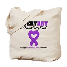 PancreaticCancer Dad Tote Bag