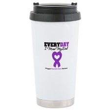 PancreaticCancer Dad Travel Coffee Mug