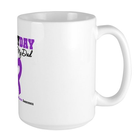 PancreaticCancer Dad Large Mug